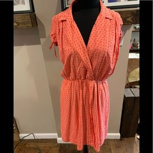 MAEVE for  Anthropologie faux wrap dress